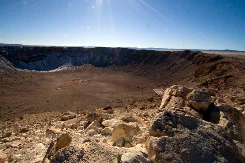 Meteor Crater Arizona Winslow