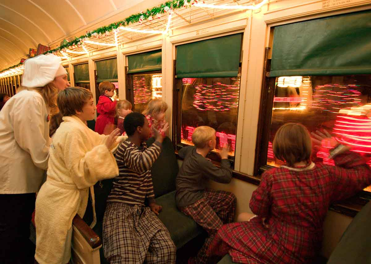 Polar Express Grand Canyon Railway Arrival