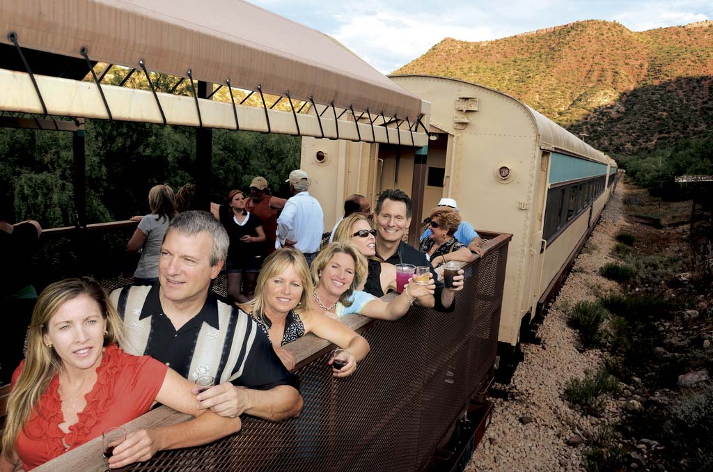 Verde Canyon Railroad - Open Air Cars