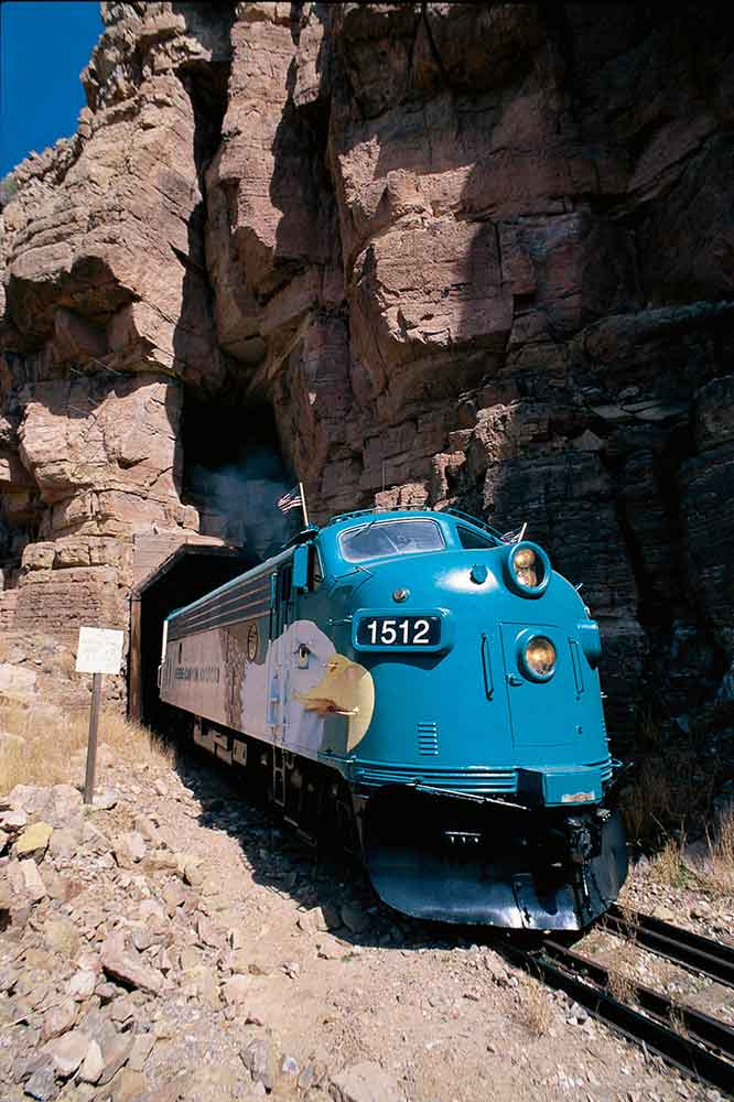 Train Rides Arizona - Tunnel